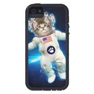 Cat astronaut - space cat - Cat lover iPhone 5 Case