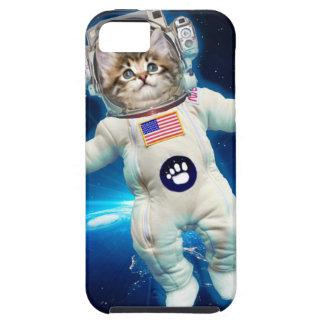 Cat astronaut - space cat - Cat lover iPhone 5 Cases
