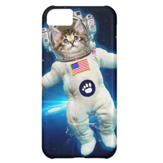 Cat astronaut - space cat - Cat lover iPhone 5C Case