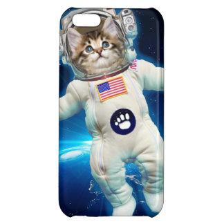 Cat astronaut - space cat - Cat lover iPhone 5C Cases
