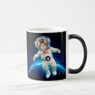 Cat astronaut - space cat - Cat lover Magic Mug
