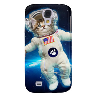 Cat astronaut - space cat - Cat lover Samsung Galaxy S4 Cover