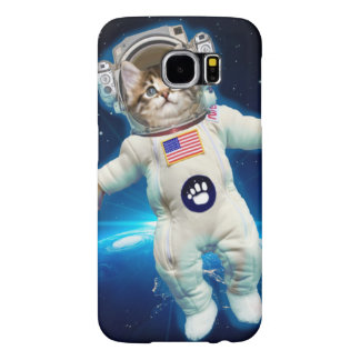 Cat astronaut - space cat - Cat lover Samsung Galaxy S6 Cases