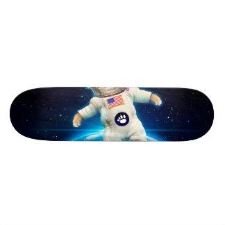 Cat astronaut - space cat - Cat lover Skate Board Deck