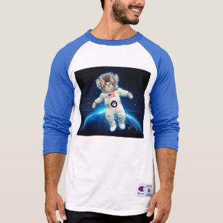 Cat astronaut - space cat - Cat lover T-Shirt