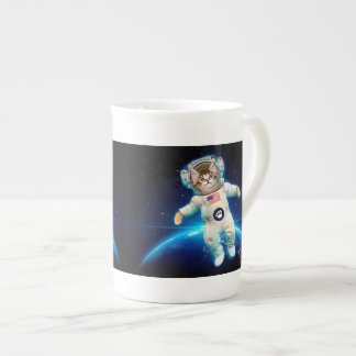 Cat astronaut - space cat - Cat lover Tea Cup