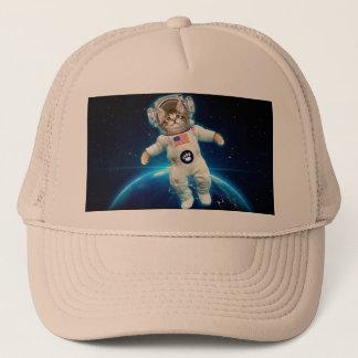 Cat astronaut - space cat - Cat lover Trucker Hat