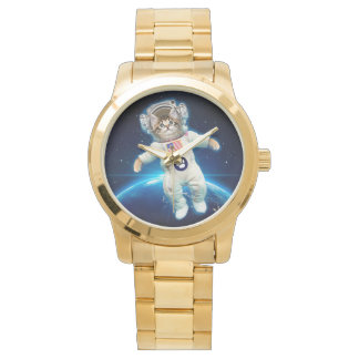 Cat astronaut - space cat - Cat lover Watch