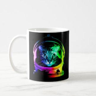 Cat astronaut - space cat - funny cats coffee mug