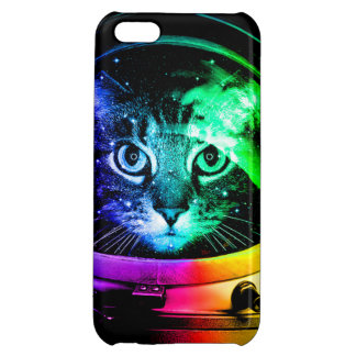 Cat astronaut - space cat - funny cats cover for iPhone 5C