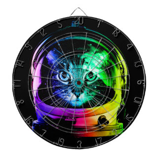 Cat astronaut - space cat - funny cats dartboard