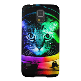 Cat astronaut - space cat - funny cats galaxy s5 covers