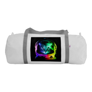 Cat astronaut - space cat - funny cats gym bag