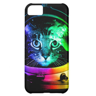 Cat astronaut - space cat - funny cats iPhone 5C case