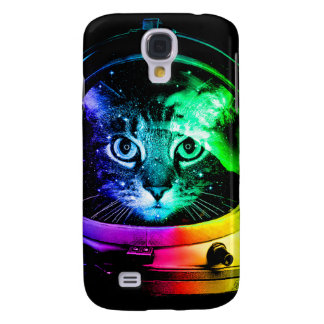 Cat astronaut - space cat - funny cats samsung galaxy s4 covers