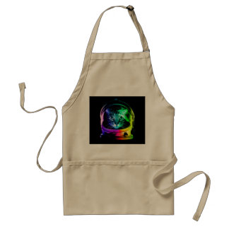 Cat astronaut - space cat - funny cats standard apron