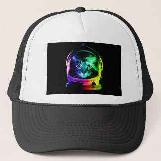 Cat astronaut - space cat - funny cats trucker hat