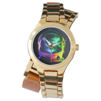 Cat astronaut - space cat - funny cats watch