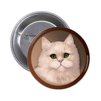 Cat Attitude 6 Cm Round Badge
