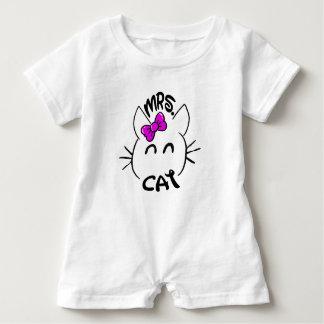 Cat baby baby bodysuit
