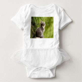 cat baby bodysuit