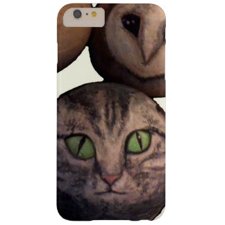 Cat Ball and Owl Ball are Friends Barely There iPhone 6 Plus Case