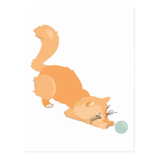 Cat & Ball Post Cards