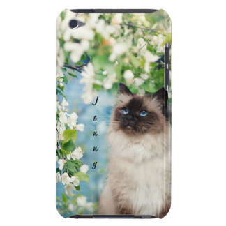 Cat Barely There iPod Cover