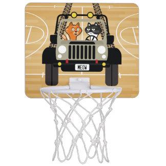 Cat Basketball Hoop