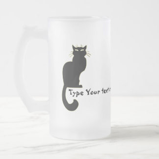 Cat Beer Mug Personalized Cat Lover Glasses Gifts