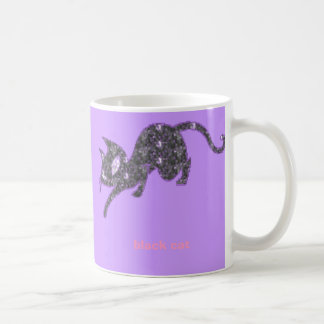 Cat-Black,  Coffee Mug