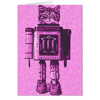 Cat Bot 3000 Card