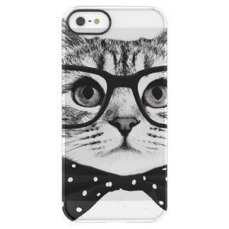cat bow tie - Glasses cat - glass cat Permafrost® iPhone SE/5/5s Case