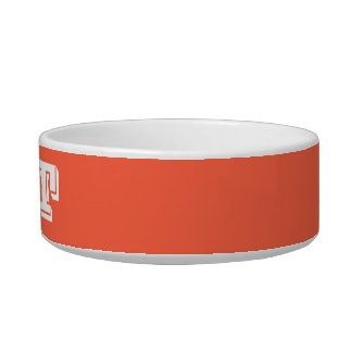 Cat Bowl by Janz Small Tomato Red