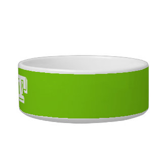 Cat Bowl by Janz Small Yellow Green