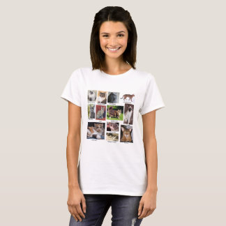 Cat Breeds Full Color Photo T-shirts