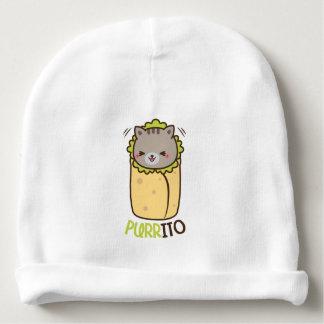 Cat & Burrito Purritp Baby Beanie