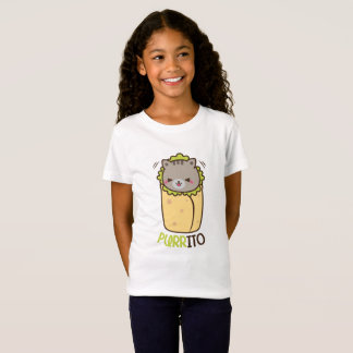 Cat & Burrito Purritp T-Shirt