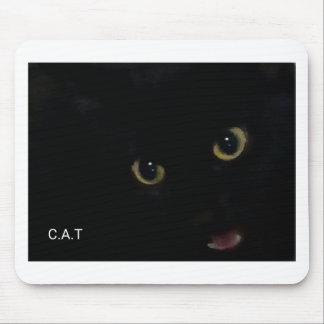 CAT by Kaye Talvilahti Mouse Pad