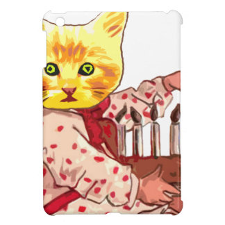 Cat Candles iPad Mini Cover