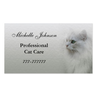 Cat Care Business Card