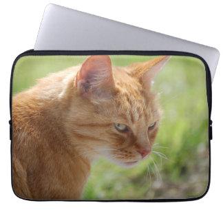 Cat cat chat - Photography Jean Louis Glineur Laptop Sleeve