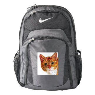 Cat - cat collage backpack