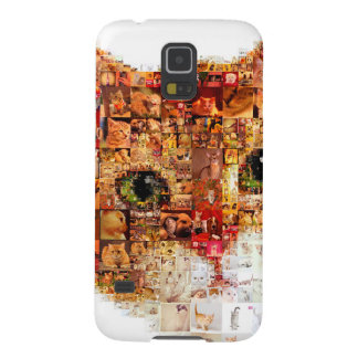 Cat - cat collage case for galaxy s5