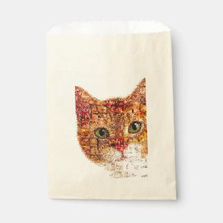 Cat - cat collage favour bag