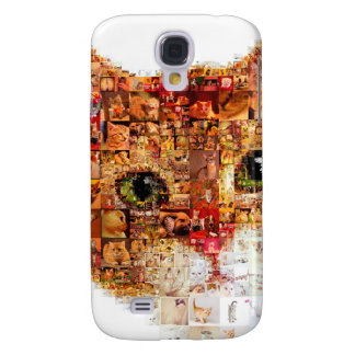 Cat - cat collage samsung galaxy s4 cases