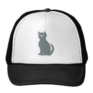 Cat cat grey gray grey mesh hats
