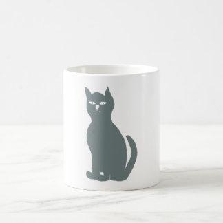 Cat cat grey gray grey mug