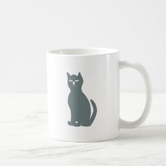 Cat cat grey gray grey coffee mug