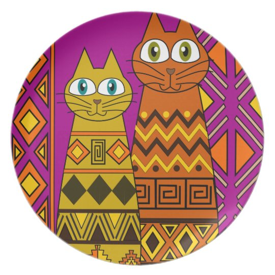 Cat,cats lover plate